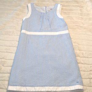 Vineyard Vines kids seersucker dress sz 14 worn 1x